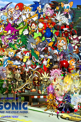 Sonic The Hedgehog Wallpapers By Lilyxchip02 On Deviantart Desktop Background