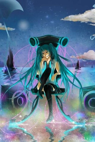 Download Mobile Wallpaper Music Sexy Anime Girls Vocaloids