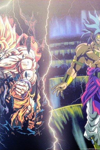Dragon Ball Z Wallpapers Broly Vs Goku HD Gallery Desktop