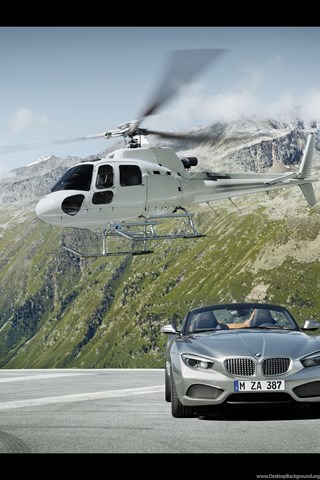 2012 Bmw Zagato Roadster Front Static Wallpapers Desktop Background