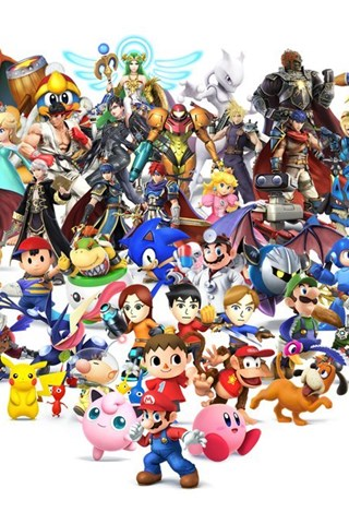 Super Smash Bros Wii U 3DS Wallpapers By Seancantrell On