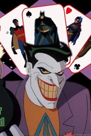 joker is wild batman the animated series wallpapers