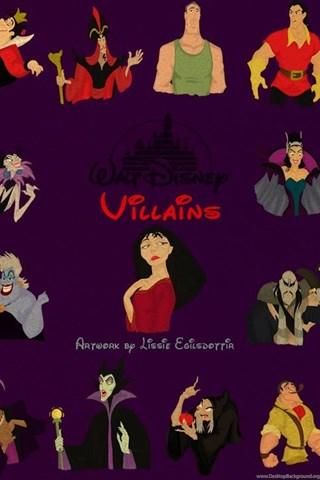 Disney Villains Wallpapers By Panda Ai On Deviantart Desktop Background