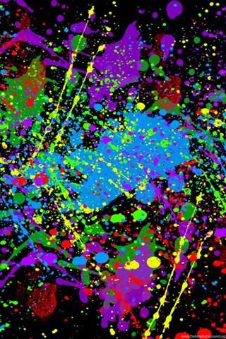 Paint Splatter Wallpapers Photo By Xxtrigunn Desktop Background