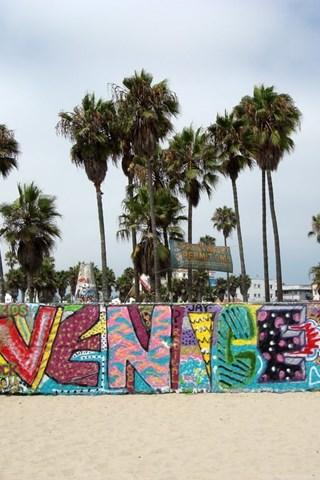 Panoramio Photo Of Venice Beach Art Walls Desktop Background