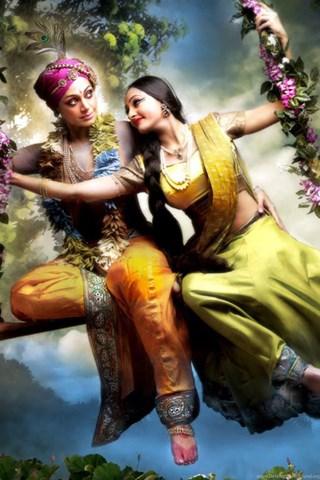 wallpapers lord radha krishna on swing hd 5277696