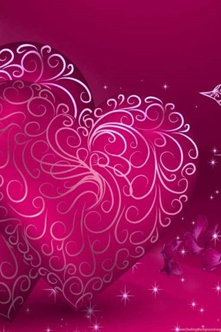 Love Birds Wallpapers In Pink Wallpapers Desktop Background