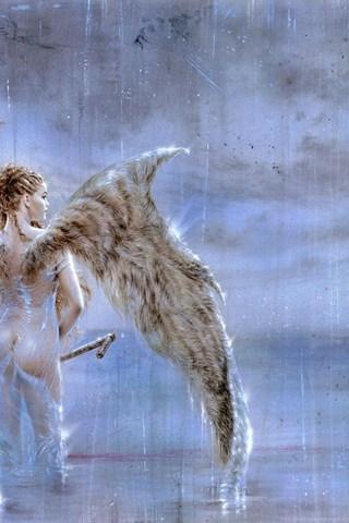 Exact answer luis royo fallen angel