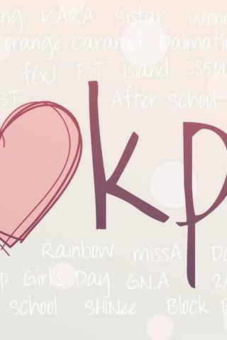 I Love Kpop Wallpaper Desktop Background