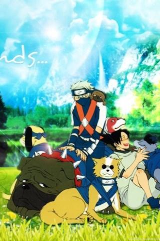 Friends Naruto Anime HD Desktop Wallpapers