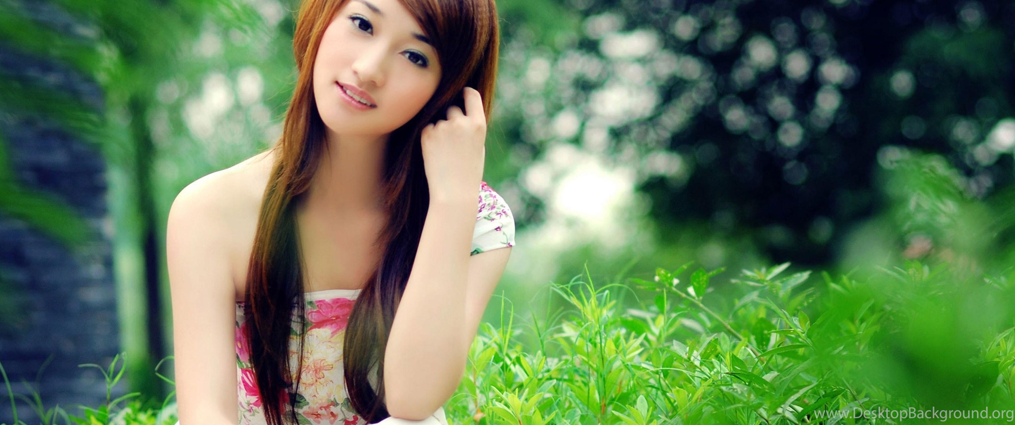 download wallpapers 3840x2160 asian, girl, dress 4k ultra hd hd