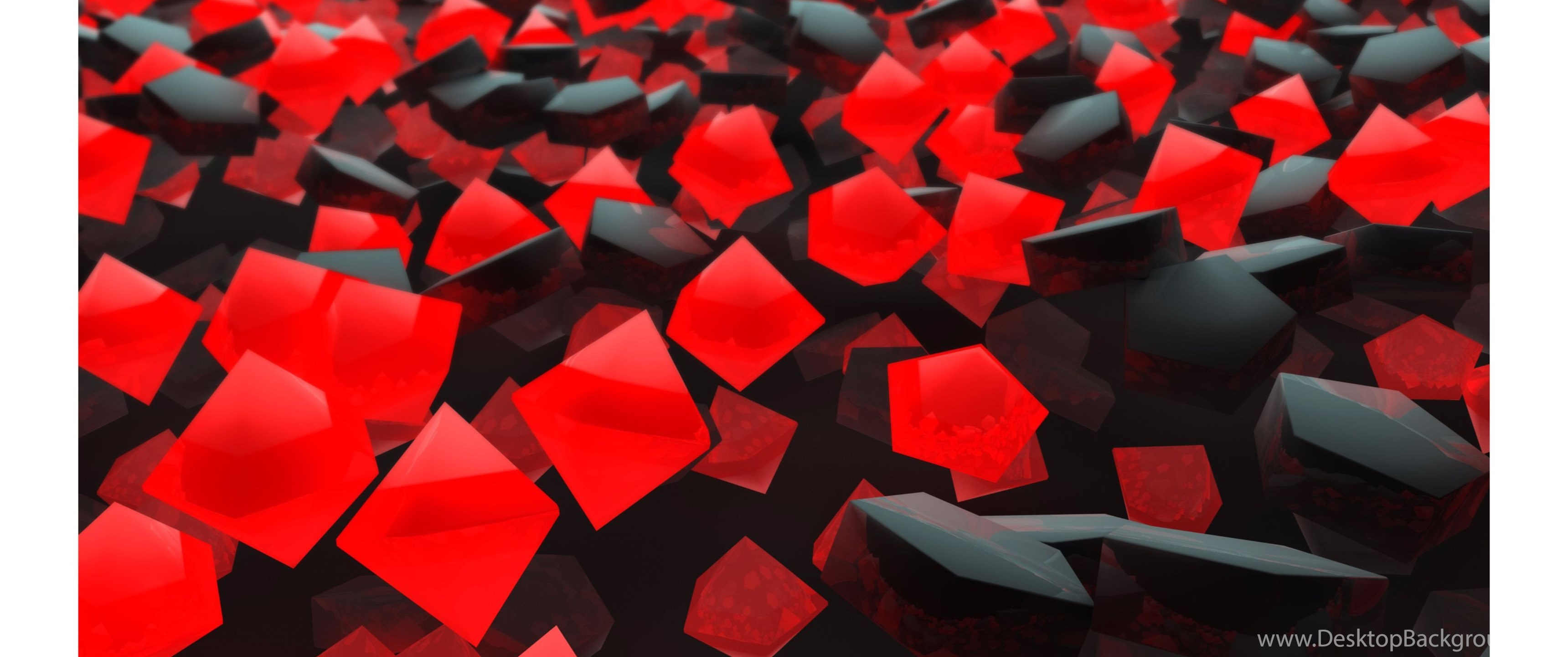 Black And Red Abstract 4K Wallpapers Desktop Background