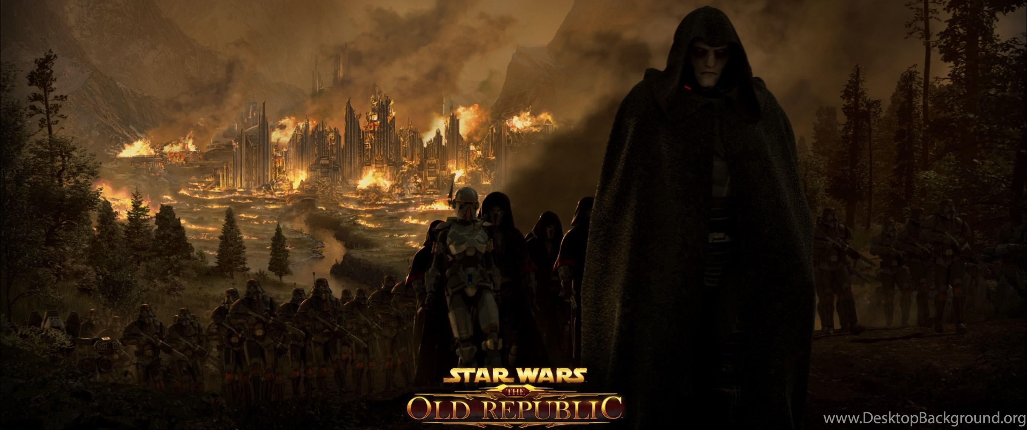 4k Ultra Hd Star Wars The Old Republic Wallpapers Hd Desktop Desktop Background