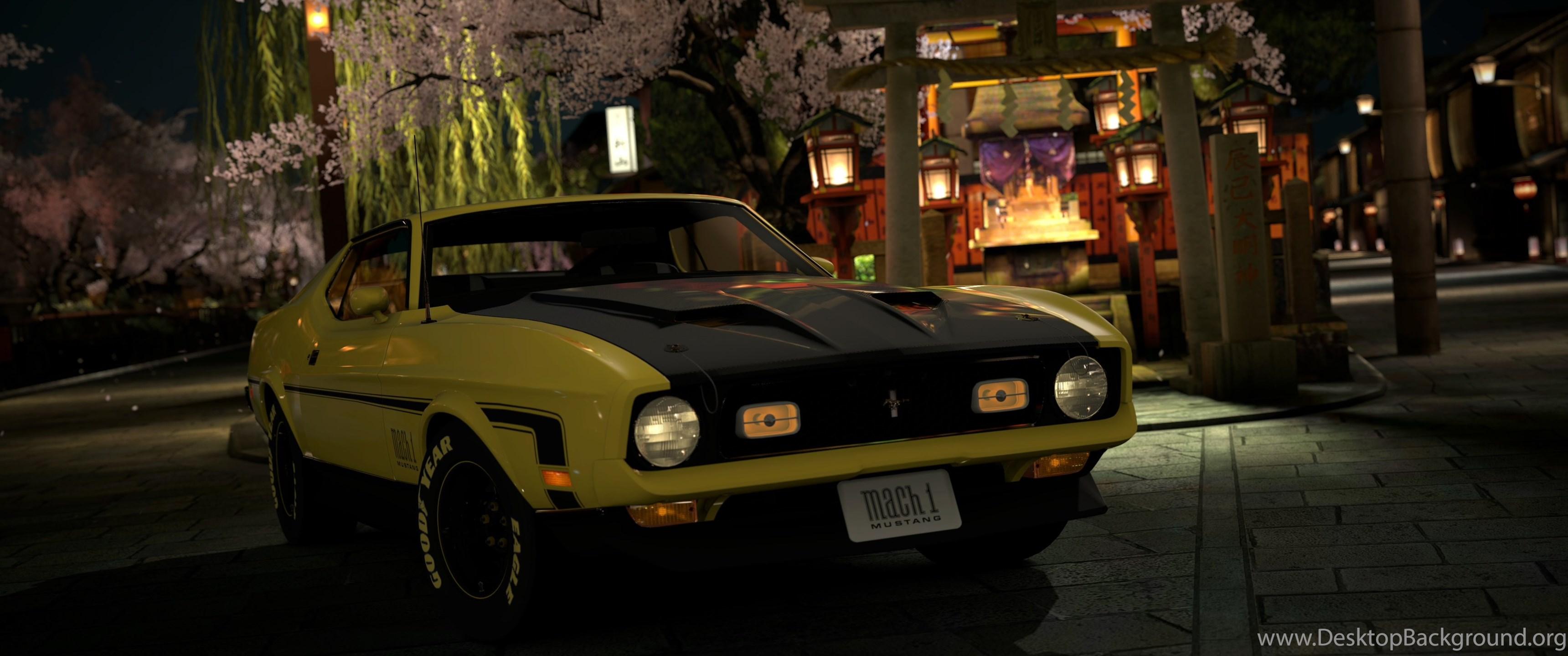 Mustang Ford Muscle Car Classic Car 4k Ultra Hd Astonishing Desktop Background