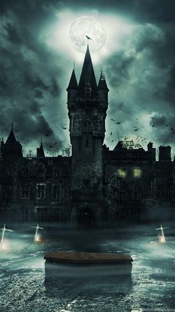 Vampire Castle Wallpapers HD Resolution Desktop Background