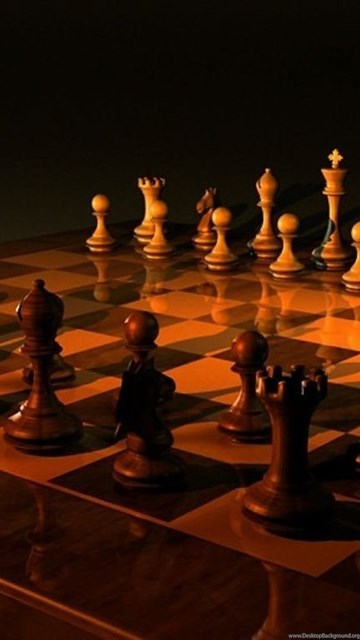 1024x768 Chess, Chess Game, Chess Desk, Chess Table, Wooden