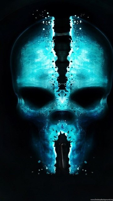 Blue Skull Wallpapers Widescreen HD Wallpapers Desktop