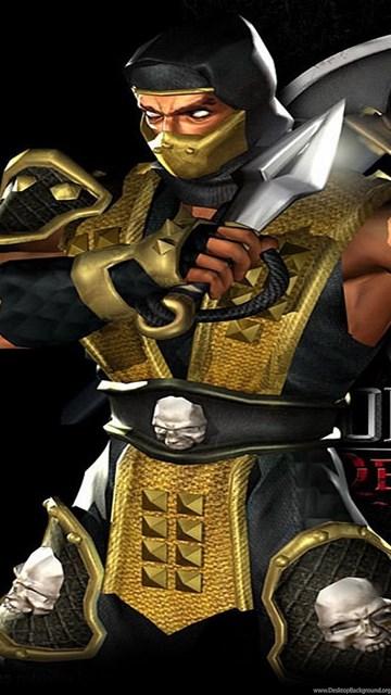 Scorpion Mortal Kombat Deadly Alliance Wallpapers Free Wide