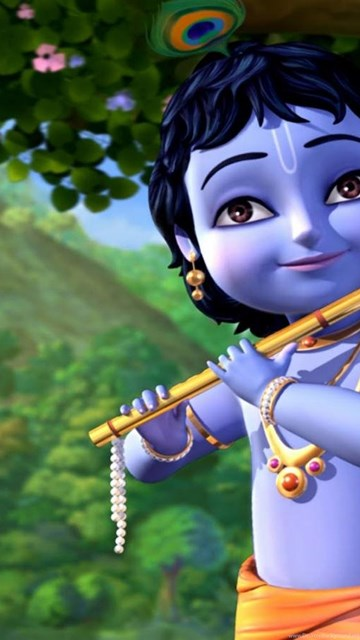 Download Full Hd Krishna Cartoon Wallpapers Hd Wallpapers Desktop