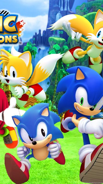 Sonic Generations Classic And Modern Wallpapers 1 By 9029561 On