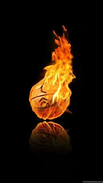 Fire Basketball Wallpaper Backgrounds 12722 Full Hd