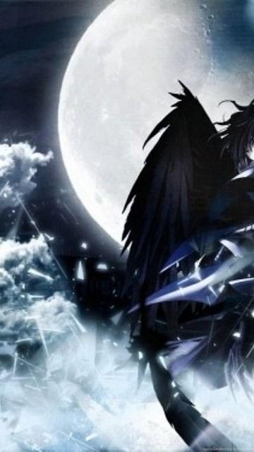 Dark anime hd wallpapers desktop background - Dark angel anime wallpaper ...