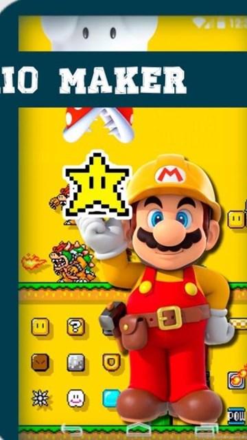 Free Live Wallpapers Gamers Super Mario Maker Desktop Background