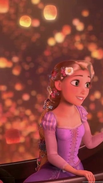 Lantern Scene In Tangled Hd Image For Iphone 6 Cartoons Wallpapers Desktop Background