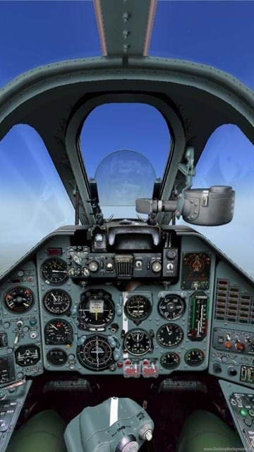 Fighter Aircraft Cockpit Latest HD Wallpapers Free Download