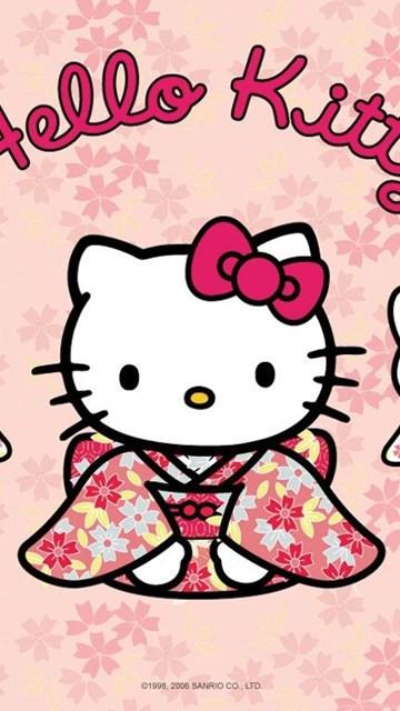 Hello Kitty In Kimono Desktop Wallpapers Cute Wallpapers Desktop