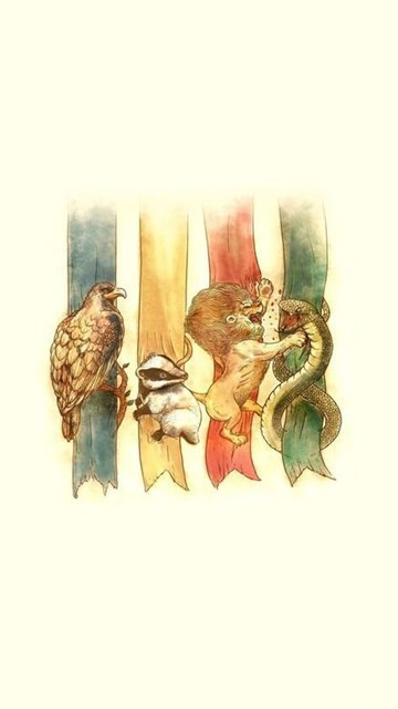 Hogwarts Houses Harry Potter Wallpapers Artistic