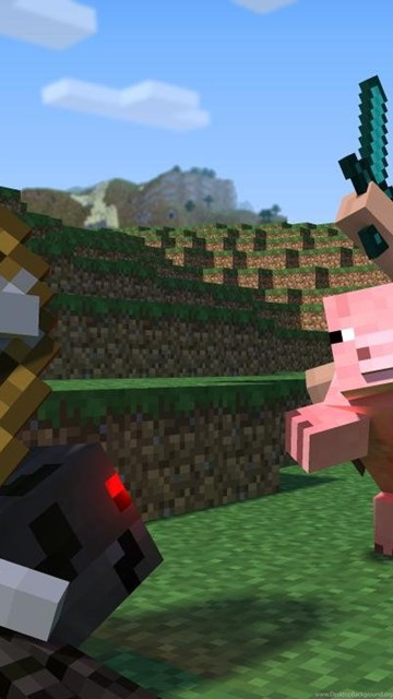 Awesome minecraft desktop background apologise, but