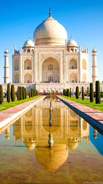 Taj mahal wide hd wallpapers desktop background - Taj mahal background hd ...