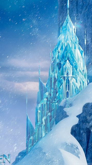 Icecastle disney frozen movie hd wallpapers desktop background - Beautiful frozen computer wallpaper ...