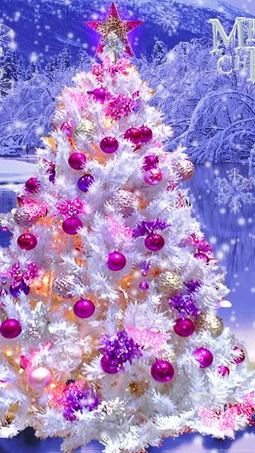 Pretty christmas tree wallpapers desktop background - Pretty christmas pictures ...