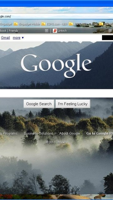 custom backgrounds now available on google homepage desktop background