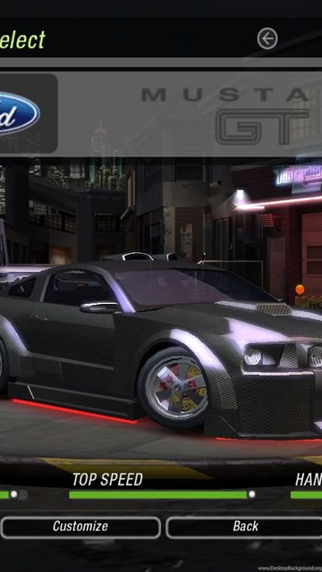 Click To See World: Need For Speed Underground 2 Mustang
