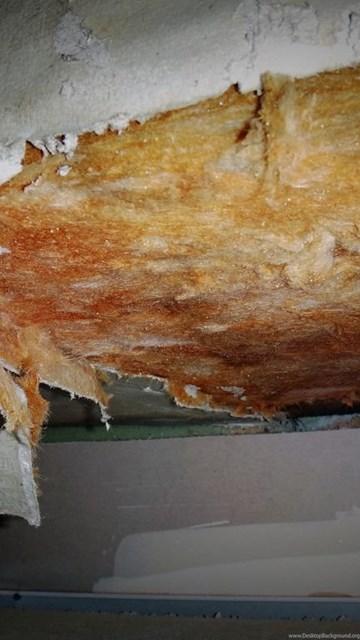 More Damaged Asbestos Paper & Fiberglass Duct Insulation