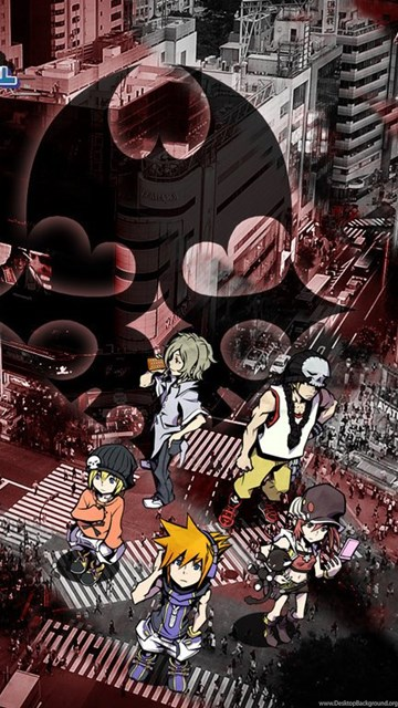 The World Ends With You Wallpapers By Spearnox On Deviantart Desktop