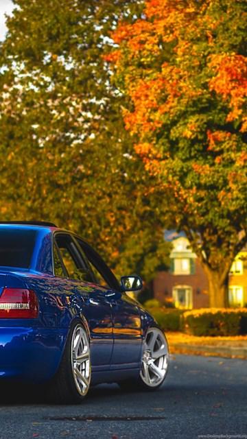Download Wallpapers Audi A4 B5 Blue Audi A4 Blue Audi