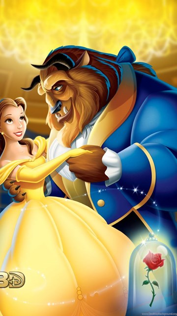 Beauty And The Beast 3d Disney Princess Wallpapers 34653647
