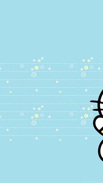 Hello Kitty Wallpaper Blue No 1 Wallpaper Hd