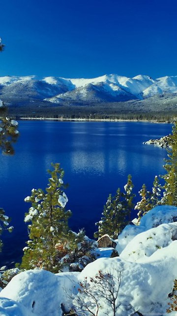 Lake Tahoe Wallpaper Lake Tahoe Summer Mountains Hd: Lake Tahoe Winter Wallpaper. Desktop Background