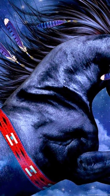 610318 blue horse 3d wallpapers hd download wallpapers for