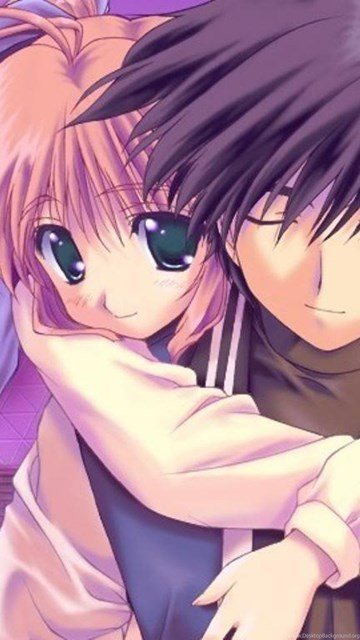 Cute Anime Couple Wallpapers Wallpapers Cave Desktop Background
