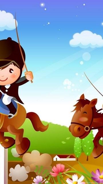 Cartoon Animated Wallpapers Bestscreenwallpaper Com Balloon In