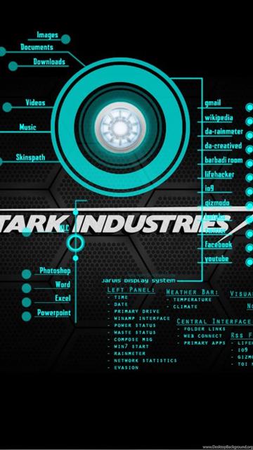 Wallpapers Jarvis New Iron Man My Walls 2560x1600 Desktop Background