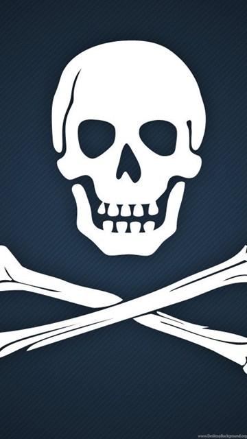 Wallpapers Skull Crossbones Bones Cross Flag Pirates Sea Ships Desktop Background