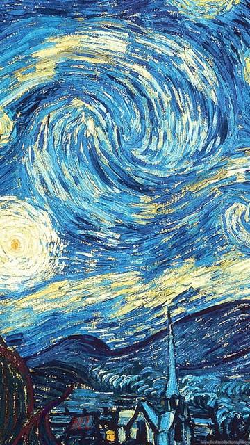 Vincent Van Gogh Starry Night 1920x1200 Hd Wallpapers And