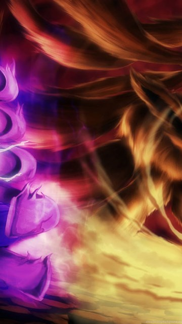 Sasuke Susanoo Vs Naruto Kyuubi Wallpapers Hd Desktop Background